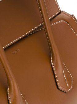 Классическая Сумка-Тоут Bally                                                                                                              коричневый цвет