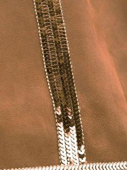 Сумка-Тоут С Пайетками Vanessa Bruno                                                                                                              коричневый цвет