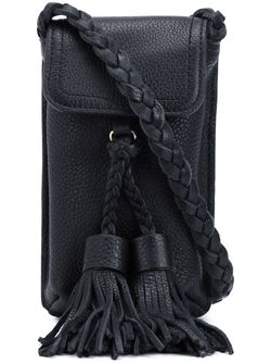 Small Braided Cross Body Bag Rebecca Minkoff                                                                                                              чёрный цвет