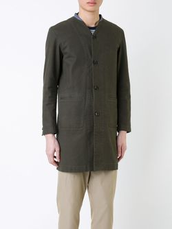 Пальто С V-Образным Вырезом Factotum                                                                                                              зелёный цвет