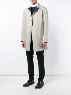 Reversible Mac Coat Lardini                                                                                                              синий цвет