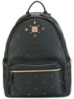 Рюкзак С Заклепками MCM                                                                                                              черный цвет