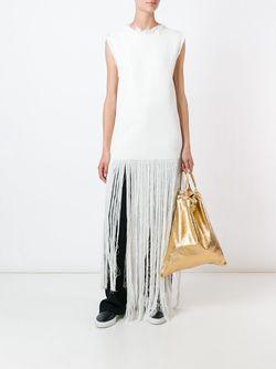 Трикотажное Платье Fully Fashioned Ports                                                                                                              белый цвет