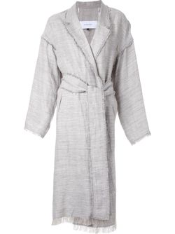 Пальто С Поясом LE CIEL BLEU                                                                                                              серый цвет