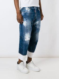 Джинсы Work Wear Dsquared2                                                                                                              синий цвет