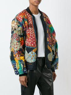 Reversible Bomber Jacket Hermès Vintage                                                                                                              чёрный цвет