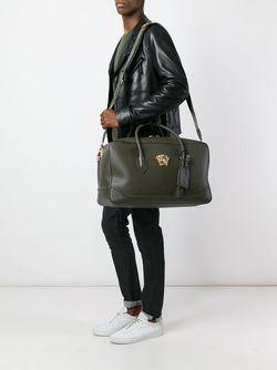 Дорожная Сумка С Логотипом Versace                                                                                                              зелёный цвет