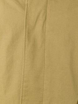 Однобортное Пальто Средней Длины Tomorrowland                                                                                                              зелёный цвет