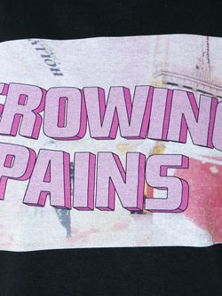 Logo Print T-Shirt Growing Pains                                                                                                              черный цвет