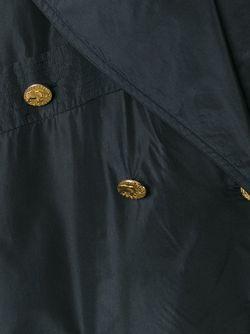 Двубортное Пальто Chanel Vintage                                                                                                              черный цвет