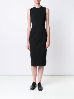 Трикотажное Платье Без Рукавов The Row                                                                                                              чёрный цвет