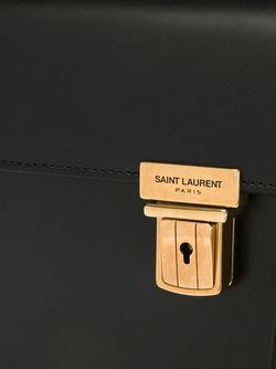 Средняя Сумка-Сэтчел High School Saint Laurent                                                                                                              черный цвет