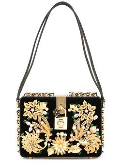 Декорированная Сумка Dolce Dolce & Gabbana                                                                                                              чёрный цвет