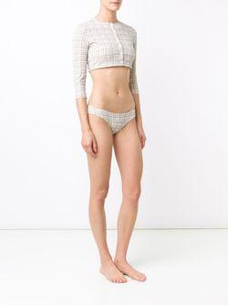 Костюм Для Плавания Genevieve Lisa Marie Fernandez                                                                                                              Nude & Neutrals цвет