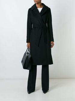 Пальто Zic Max Mara                                                                                                              чёрный цвет