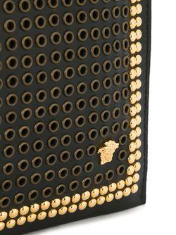 Клатч Medusa C Заклепками Versace                                                                                                              чёрный цвет