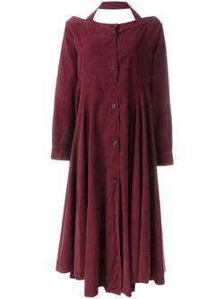 Свободное Платье С Открытыми Плечами ROMEO GIGLI VINTAGE                                                                                                              красный цвет