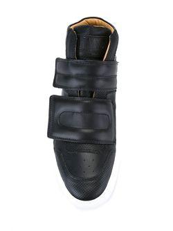 Strap Hi-Top Sneakers MM6 by Maison Margiela                                                                                                              чёрный цвет