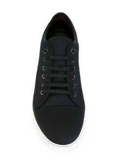 Кеды С Контрастным Носком Lanvin                                                                                                              черный цвет