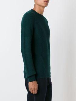 Вязаный Джемпер Lanvin                                                                                                              зелёный цвет