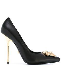 Туфли Medusa Versace                                                                                                              чёрный цвет