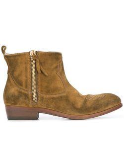 Ботинки Anouk Golden Goose                                                                                                              зелёный цвет