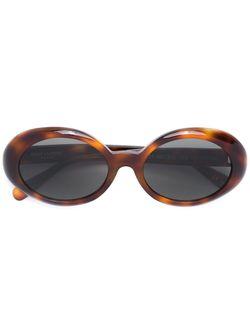 Солнцезащитные Очки Sl 121 Nicole Saint Laurent                                                                                                              коричневый цвет