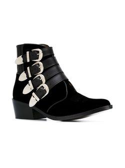 Ботинки С Ремешками На Пряжке Toga                                                                                                              черный цвет