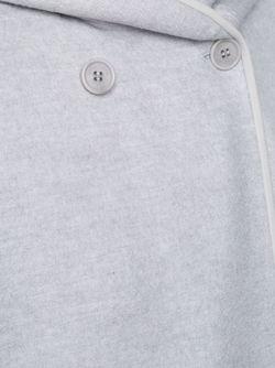 Пальто С Капюшоном Loro Piana                                                                                                              серый цвет