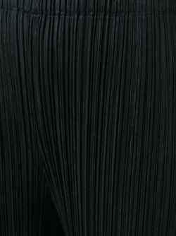 Плиссированные Брюки PLEATS PLEASE BY ISSEY MIYAKE                                                                                                              чёрный цвет