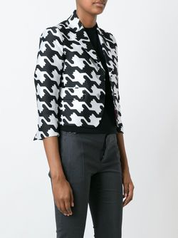 Digital Houndstooth Jacket Dsquared2                                                                                                              белый цвет