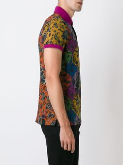 Футболка-Поло С Цветочным Принтом Etro                                                                                                              многоцветный цвет