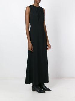 Длинное Платье MM6 by Maison Margiela                                                                                                              черный цвет