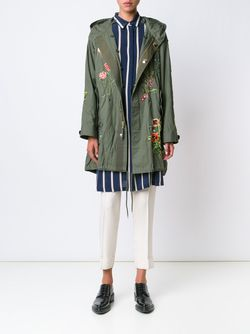 Jarde Hand Embroidered Parka Creatures of the Wind                                                                                                              зелёный цвет