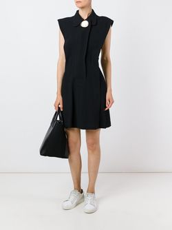 Расклешенное Платье С Открытой Спиной Opening Ceremony                                                                                                              черный цвет