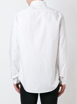 Рубашка Mini Tiger Kenzo                                                                                                              белый цвет