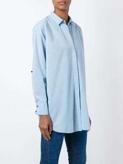 Свободная Рубашка Mih Jeans                                                                                                              синий цвет