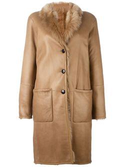 Пальто С Панельным Дизайном Joseph                                                                                                              Nude & Neutrals цвет