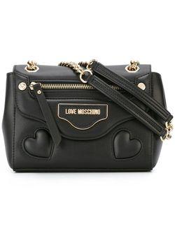 Сумка На Плечо С Логотипом Love Moschino                                                                                                              черный цвет