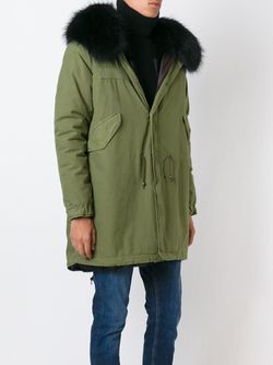 Oversized Hood Parka MR & MRS Italy                                                                                                              зелёный цвет