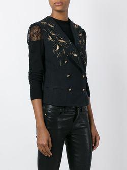 Двубортная Жилетка Chanel Vintage                                                                                                              чёрный цвет