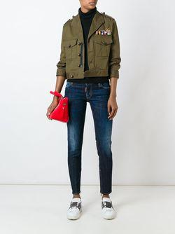 Куртка Golden Arrow Dsquared2                                                                                                              зелёный цвет