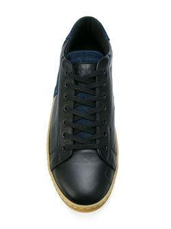 Классические Кеды На Шнуровке Leather Crown                                                                                                              чёрный цвет
