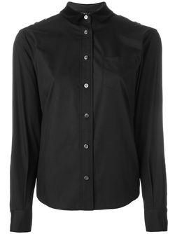 Рубашка С Кружевными Вставками Sacai                                                                                                              чёрный цвет
