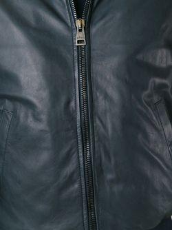 Кожаная Куртка-Бомбер Etro                                                                                                              чёрный цвет