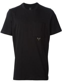 Футболка С Нагрудным Карманом OAMC                                                                                                              чёрный цвет