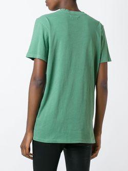 Футболка Dewel ISABEL MARANT ÉTOILE                                                                                                              зелёный цвет