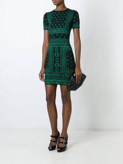 Вязаное Платье Alexander McQueen                                                                                                              чёрный цвет