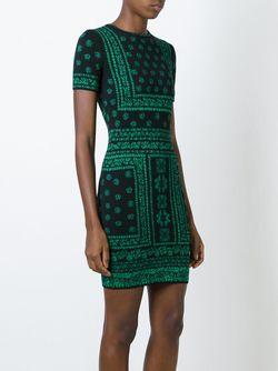 Вязаное Платье Alexander McQueen                                                                                                              черный цвет