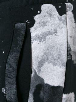 Шорты С Абстрактным Принтом OFF-WHITE                                                                                                              чёрный цвет